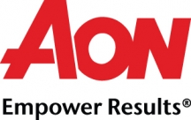 AON logo with tag